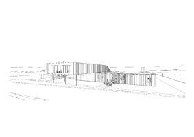 belgian embassy in rabat- Morocco - concept view 1